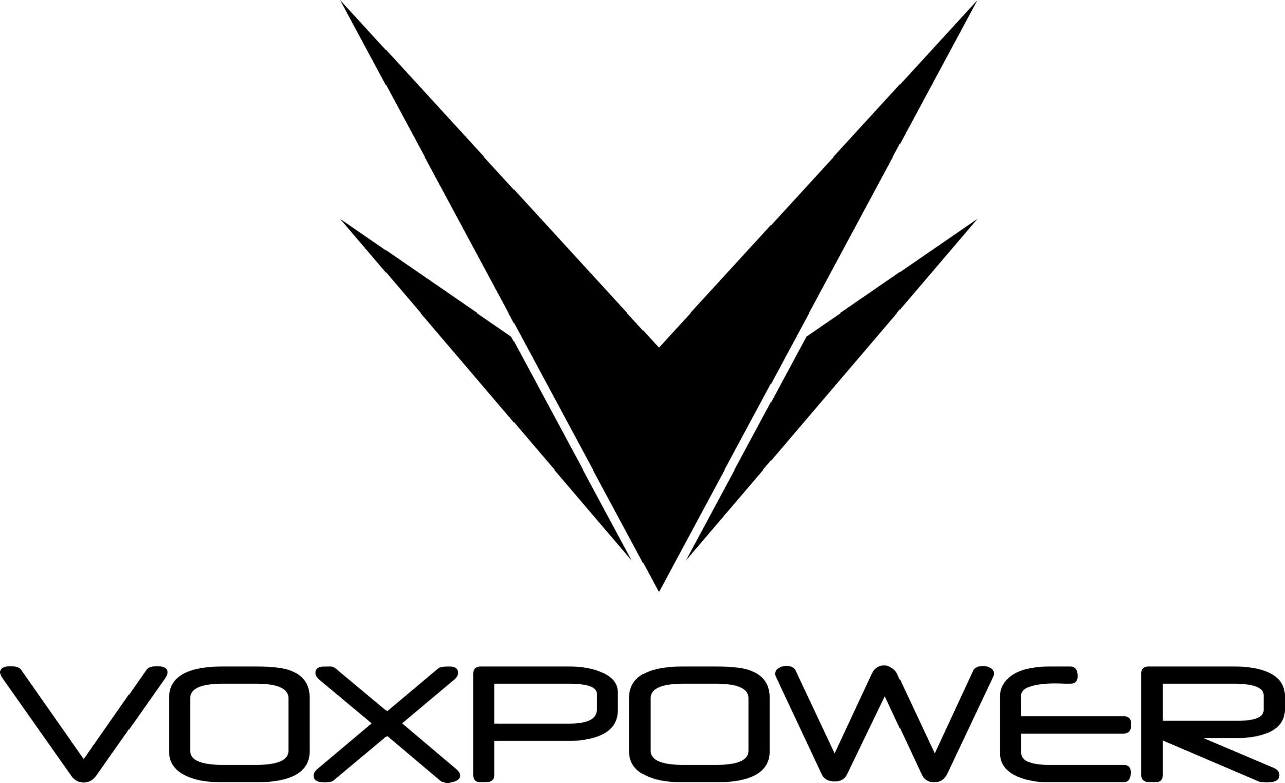 Vox Grey Logo on White